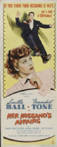 Her Husband's Affairs 1947 DVD - Lucille Ball / Franchot Tone